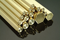 Brass Square/Hexagon  Rods